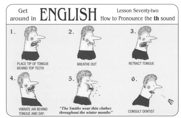 pronunciation th